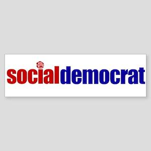 Social Democrat Bumper Sticker