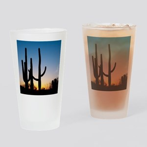 Arizona Cactus Drinking Glass
