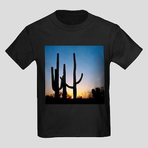 Arizona Cactus Kids Dark T-Shirt