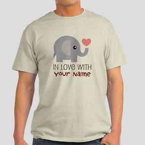 Personalized Matching Couple Light T-Shirt