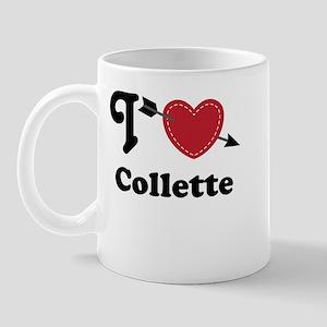 Personalized Couples Heart Mug