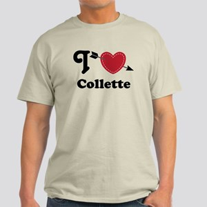 Personalized Couples Heart Light T-Shirt