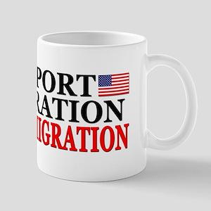 """""""I Support Immigration: Legal Immigration!"""" Mug"""