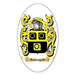 Ambrogelli Sticker (Oval 50 pk)