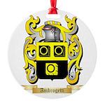 Ambrogetti Round Ornament