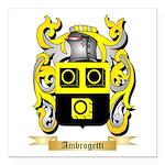 Ambrogetti Square Car Magnet 3