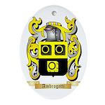 Ambrogetti Ornament (Oval)