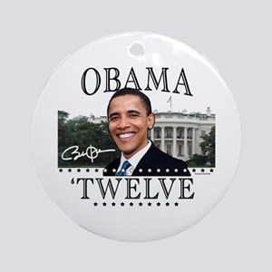 Obama 'Twelve Ornament (Round)