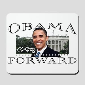 Obama Forward 2012 Mousepad