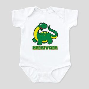 Herbivore Dinosaur Infant Bodysuit