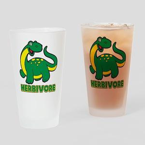 Herbivore Dinosaur Drinking Glass
