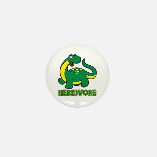 Herbivore Dinosaur Mini Button
