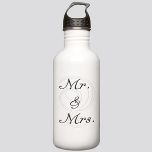 Mr. & Mrs. Stainless Water Bottle 1.0L