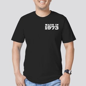 Made in 1973 Men's Fitted T-Shirt (dark)