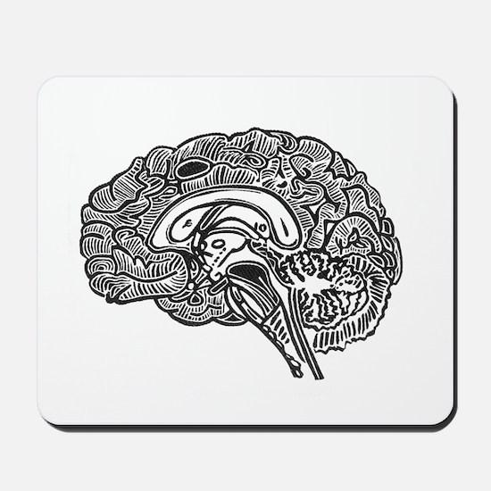 Science Geek Brain Mousepad