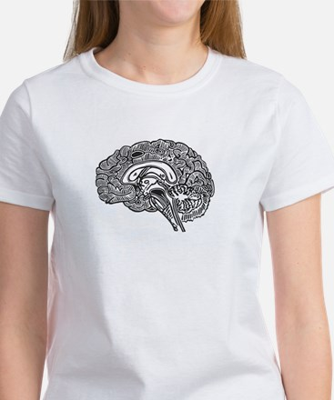 Science Geek Brain Women's T-Shirt