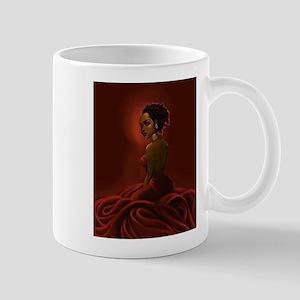 black woman - shirt Mug