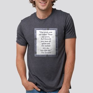 Our Revels Now Are Ended Mens Tri-blend T-Shirt