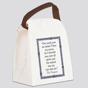 Our Revels Now Are Ended Canvas Lunch Bag