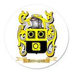Ambrogioni Round Car Magnet