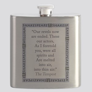 Our Revels Now Are Ended Flask
