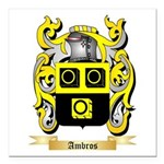 Ambros Square Car Magnet 3