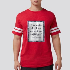Let Me Be That I Am Mens Football Shirt
