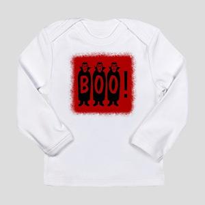 Boo! Dracula is here! Long Sleeve Infant T-Shirt