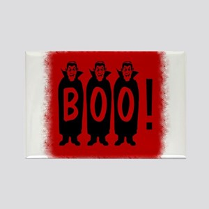 Boo! Dracula is here! Rectangle Magnet