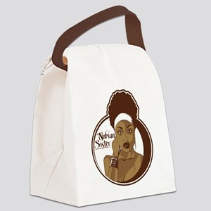nubiansister Canvas Lunch Bag