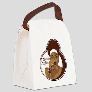 nubiansister Canvas Lunch Bag