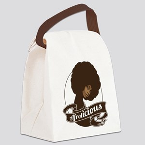 afrolicious Canvas Lunch Bag