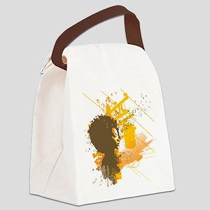 afrobirds Canvas Lunch Bag