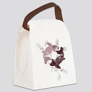 koifish Canvas Lunch Bag