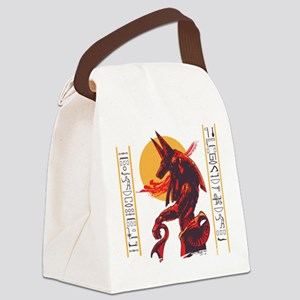 anubis Canvas Lunch Bag