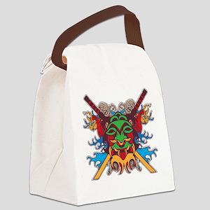 warriormask Canvas Lunch Bag