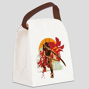 samurai6 Canvas Lunch Bag