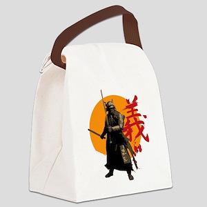 samuraiWARRIOR Canvas Lunch Bag