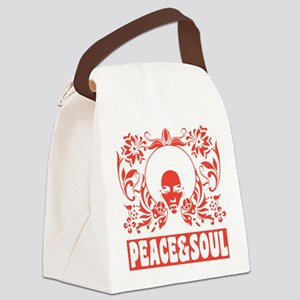 peaceandsoul Canvas Lunch Bag