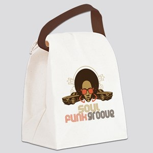 soulfunkgroove Canvas Lunch Bag