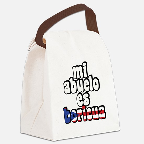 abuelo.jpg Canvas Lunch Bag