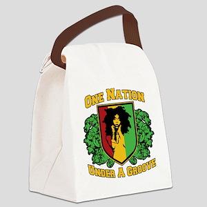 onenationFINAL Canvas Lunch Bag