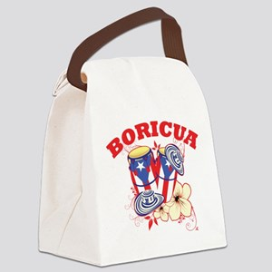 congaboricua Canvas Lunch Bag