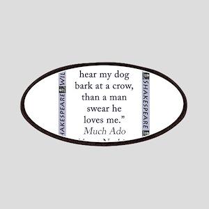 I Had Rather Hear My Dog Bark Patch