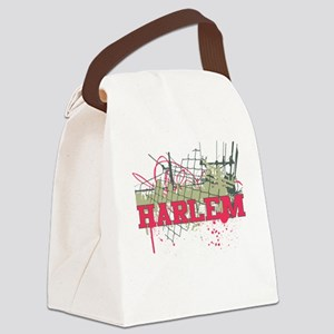 harlemURBAN Canvas Lunch Bag