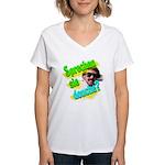 Sprechen Sie Douche? Women's V-Neck T-Shirt