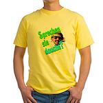 Sprechen Sie Douche? Yellow T-Shirt