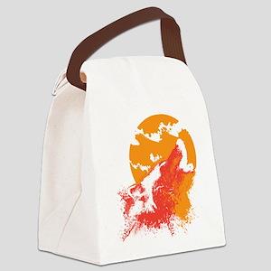 howlingwolf Canvas Lunch Bag