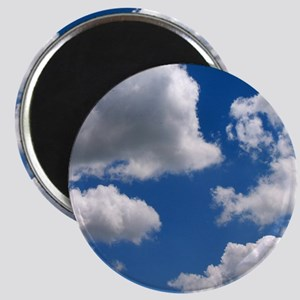 Puffy Clouds Magnet
