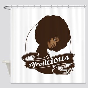 afrolicious Shower Curtain
